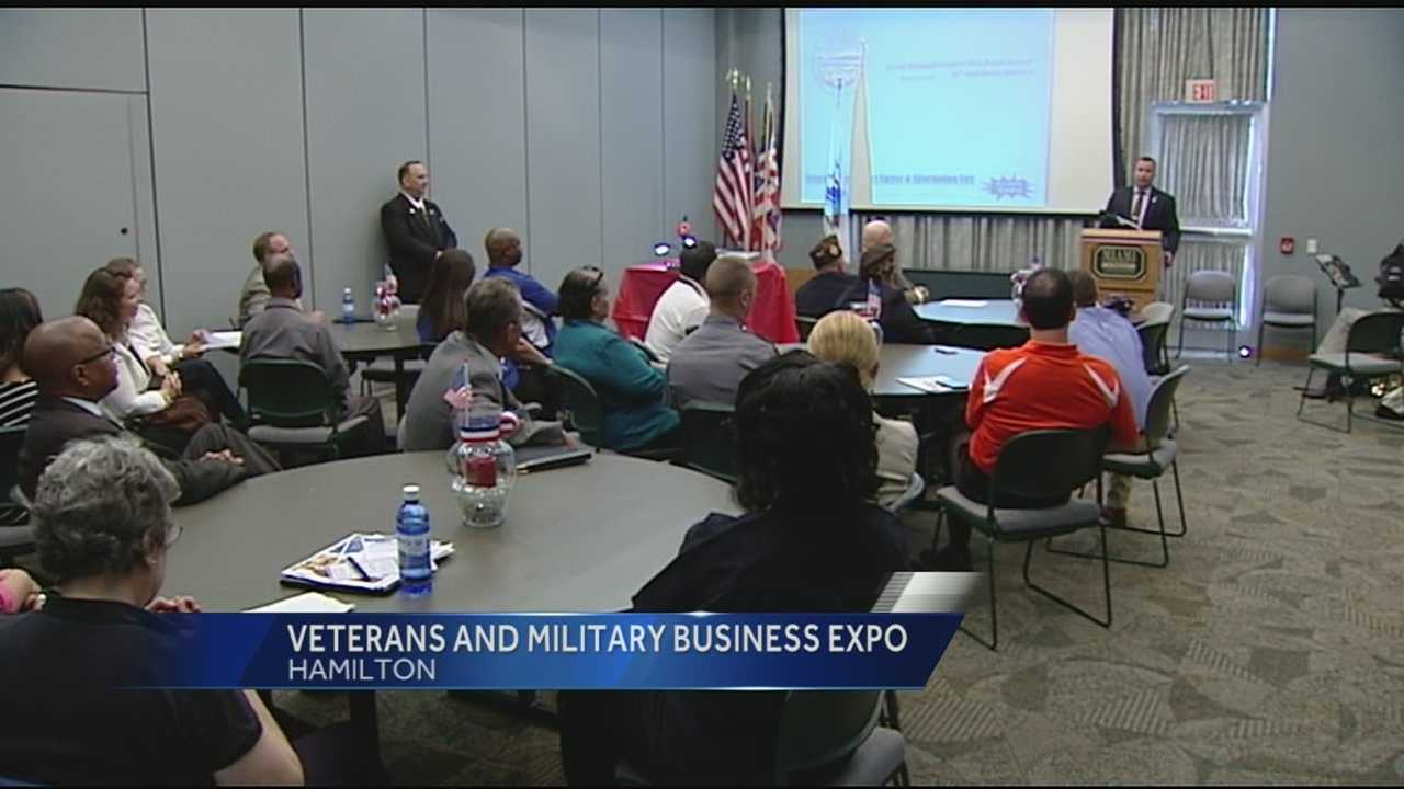 "A ""targeted job fair"" was held in Hamilton Monday for job seeking veterans."