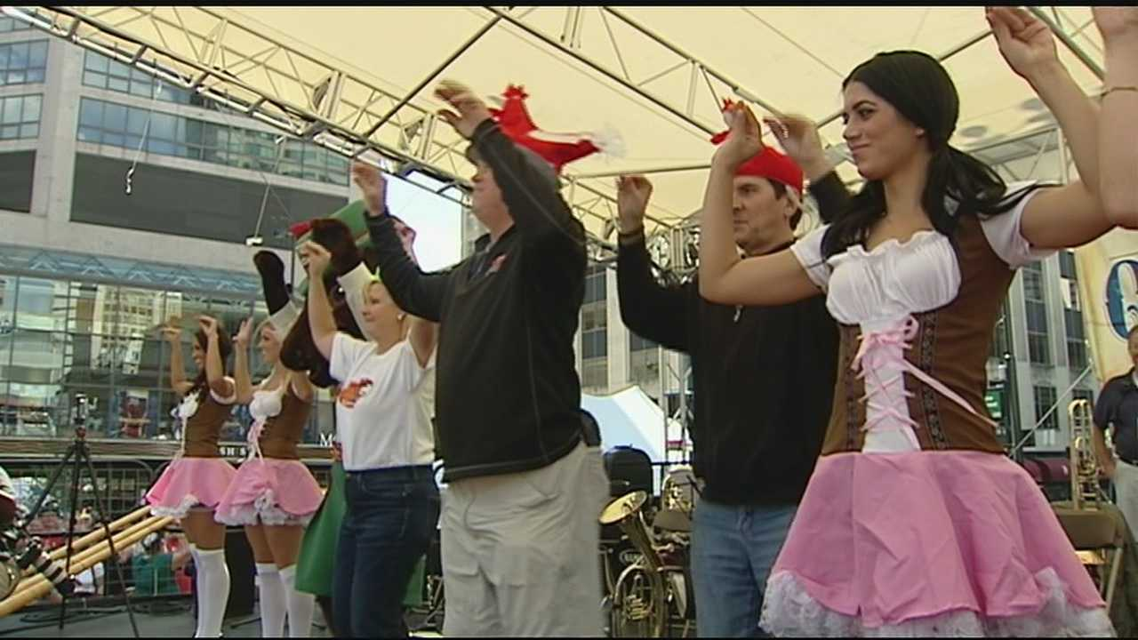 Cincinnati police say they will increase patrols to keep downtown visitors safe during the annual Oktoberfest party.