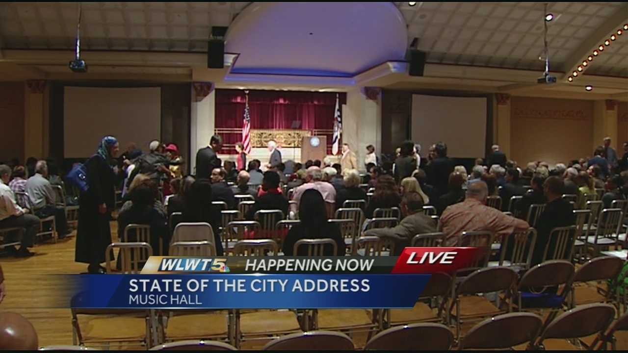 "Cincinnati's Mayor is looking to segue the recent success of the city's core to the neighborhoods that surround it. In his state-of-the-city address at Music Hall Thursday evening, John Cranley began by saying, ""Our Queen City is on fire with enthusiasm and energized by an excitement you can feel in the air. I am happy to report the state of Cincinnati is strong."""