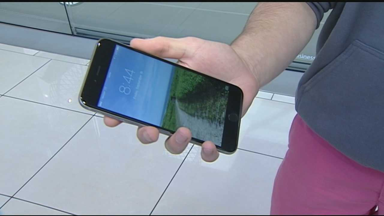 Lines at Kenwood Towne Center formed early Thursday evening. The iPhone 6 went on sale at 8 a.m. Friday.