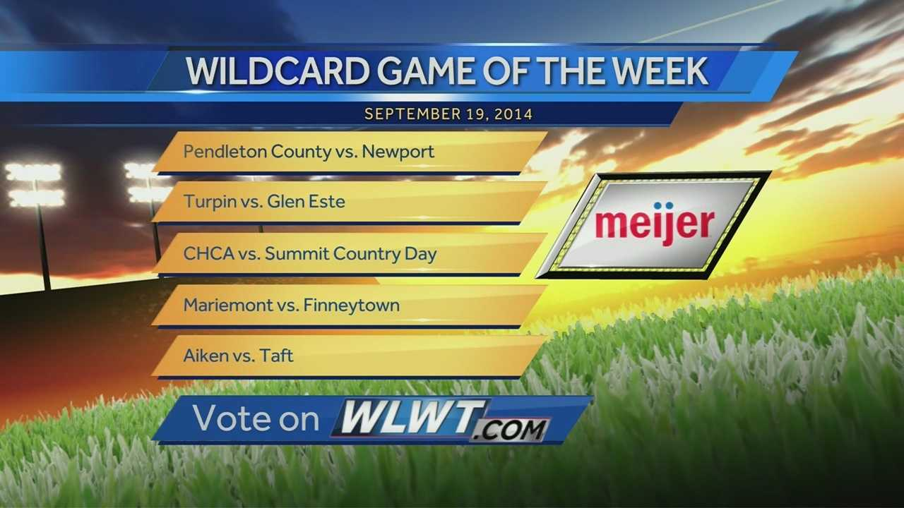 In this week's Meijer Wildcard Game of the Week Taylor beat Deer Park with a final score of 40 - 20.
