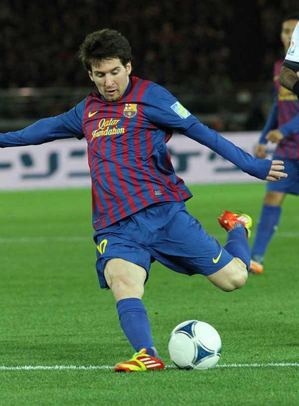 Lionel Messi - $64.7 million