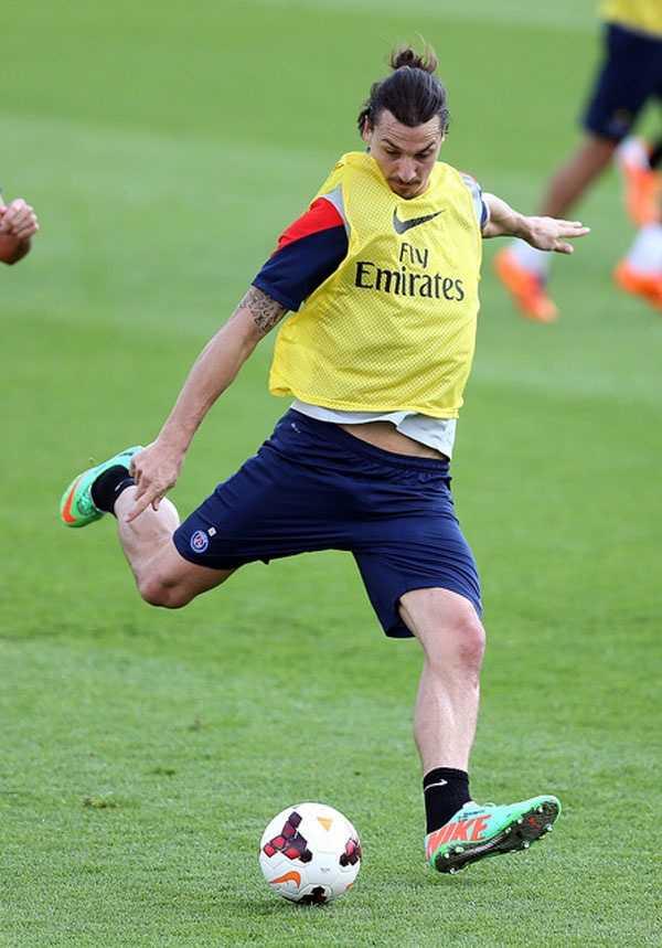 Zlatan Ibrahimovic - $40.4 million