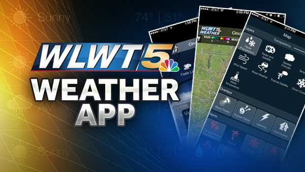 Download the free WLWT Weather App for iPhone! Get the Tri-State's most accurate forecast in the palm of your hand, wherever you are, whenever you want it! From Severe Weather Alerts to School/Business Closings, it keeps you up to date with all things weather! Find the WLWT Weather App by searching WLWT in your iPhone's app store or click here to download.