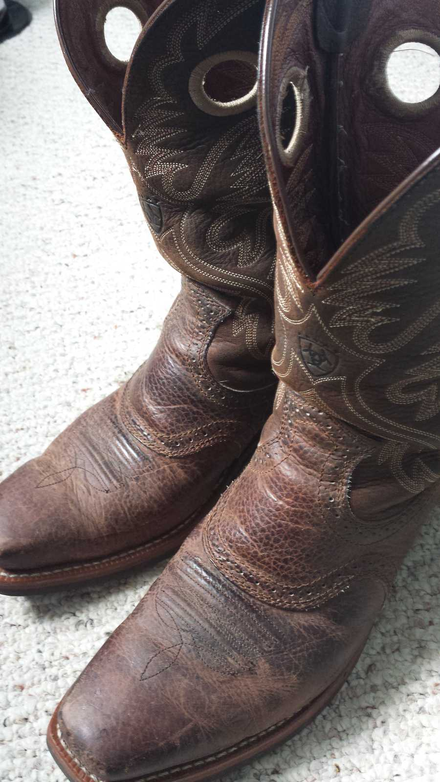 3. I own cowboy boots. Darn proud of 'em.. Away from work, my sense of style is a little lacking. When I realized I could just throw on some jeans and boots and a decent shirt I realized I finally figured something out.