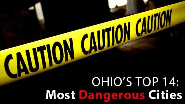 Do you live in one of Ohio's most dangerous cities? Find out which cities were found to have the most violent and property crimes, according to the most recent FBI Crime report.