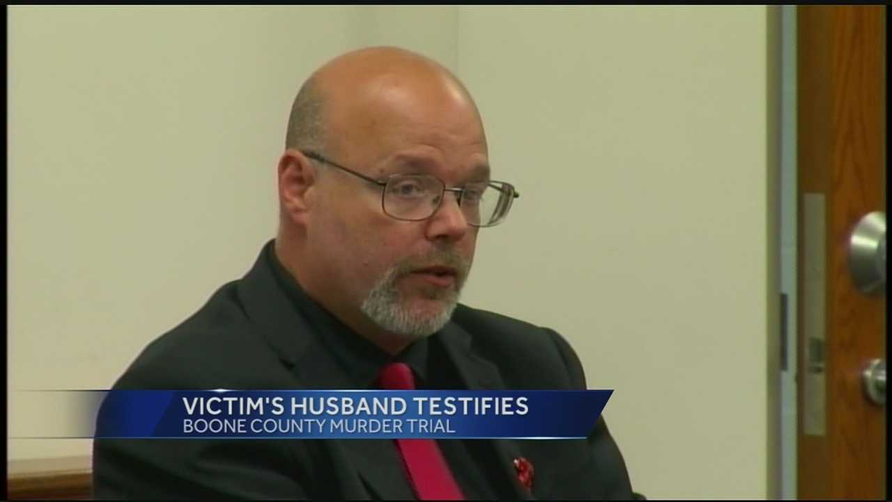 It was a tough day in court Friday as Michelle Mockbee's husband took the stand in the case against the man charged in her death.