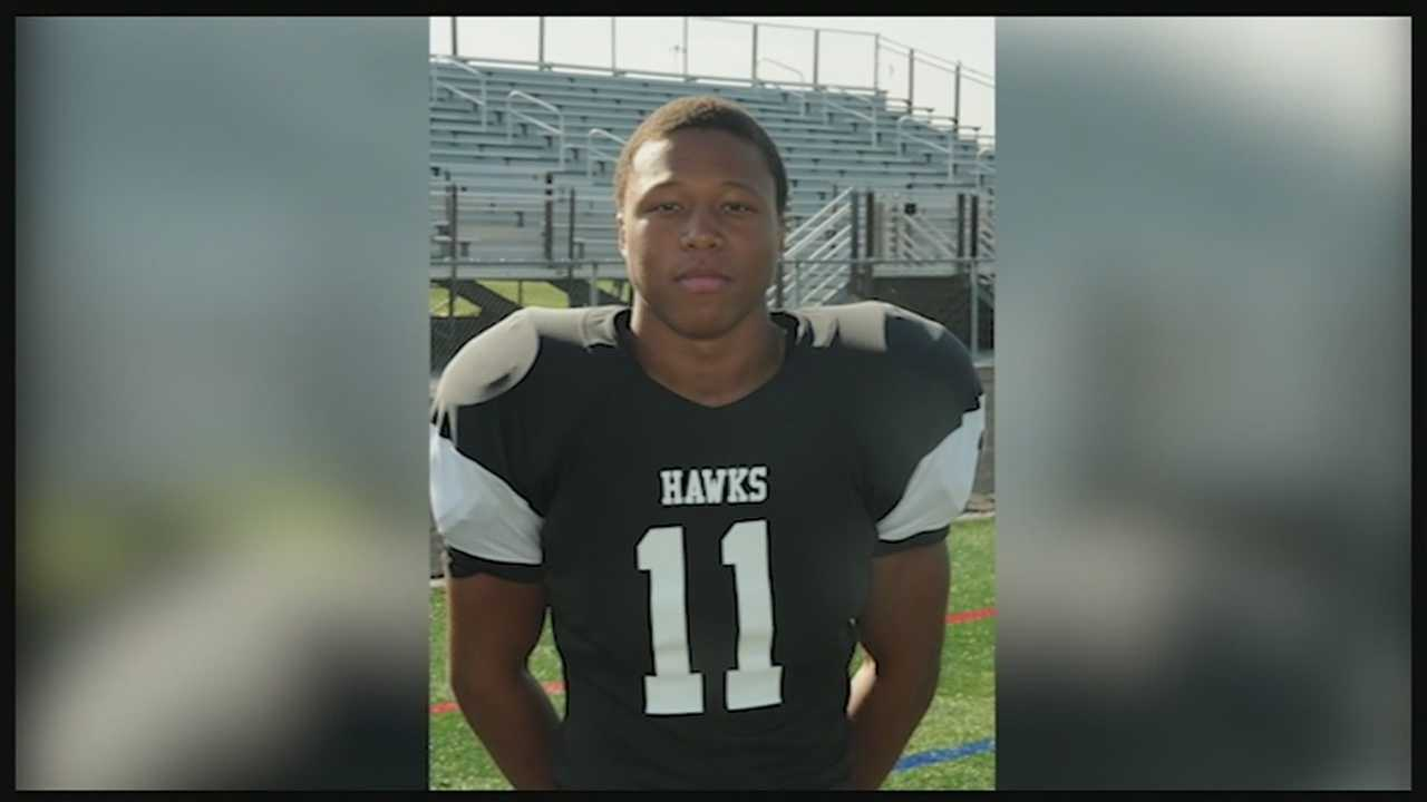 The 19-year-old University of Cincinnati football player who was killed in a motorcycle crash Thursday was remembered at Friday's Lakota East football game with a moment of silence. Chamoda Kennedy-Palmore wore No. 11 for Lakota East. He graduated two years ago, after leading the Thunderhawks to their first state playoff appearance.
