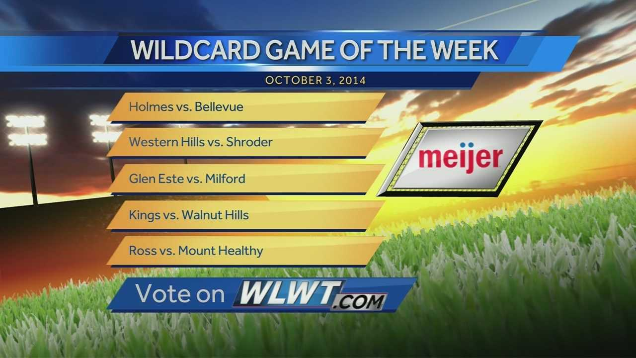 Meijer Wildcard Game of the Week for Sept. 26