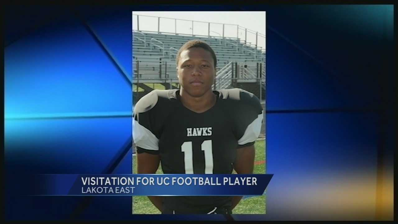 The visitation for 19-year-old Chamoda Kennedy-Palmore was held Thursday evening at Lakota East High School.