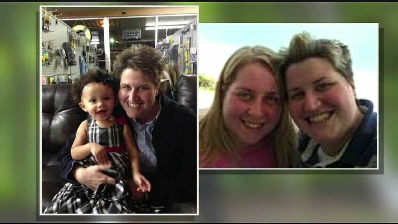 Jennifer Cramblett was five months pregnant and happy with her life in April 2012. She and her partner had married months earlier in New York, and within days of their nuptials she had become pregnant with donor sperm at a fertility clinic in Canton.