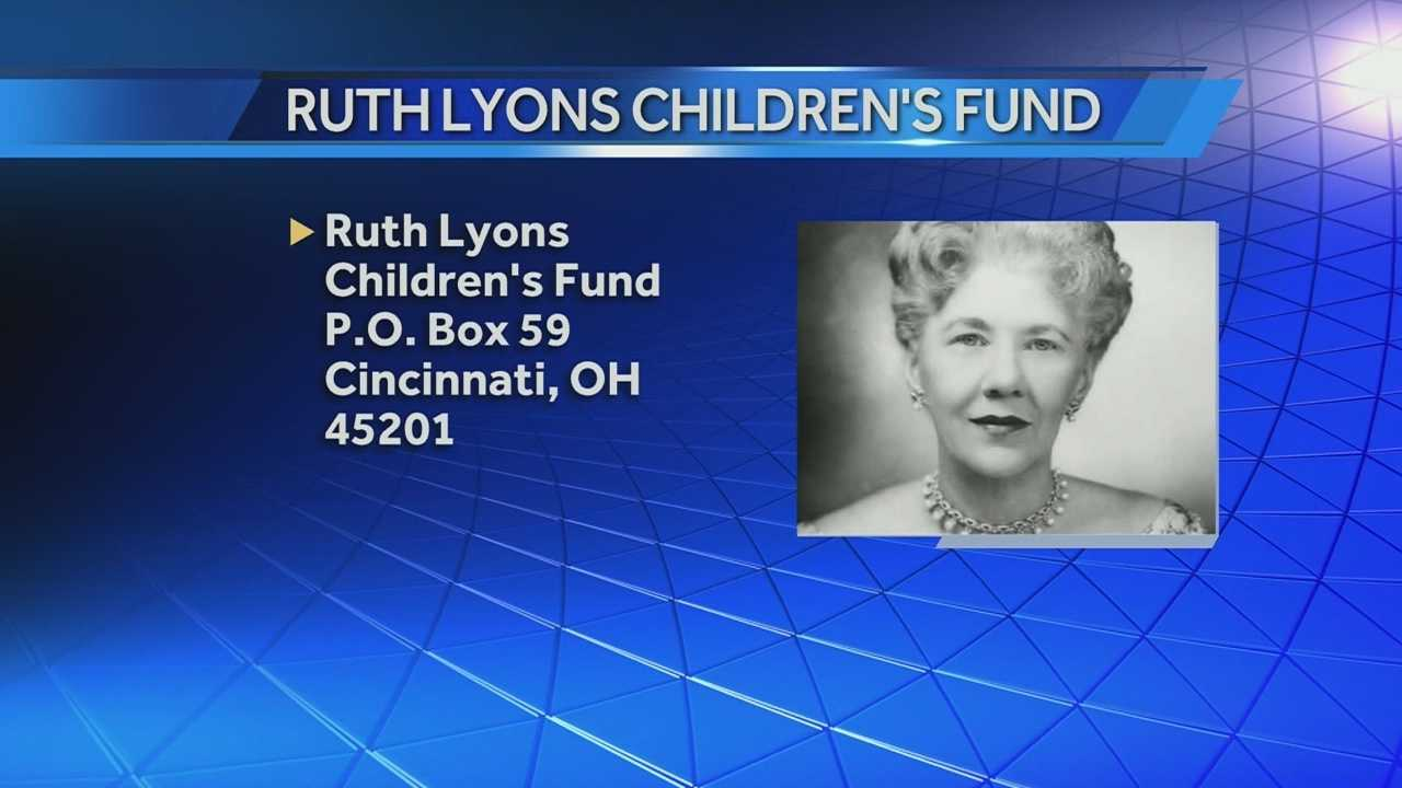 Oct. 4 marks the 75th anniversary of the Ruth Lyons Children's Fund.