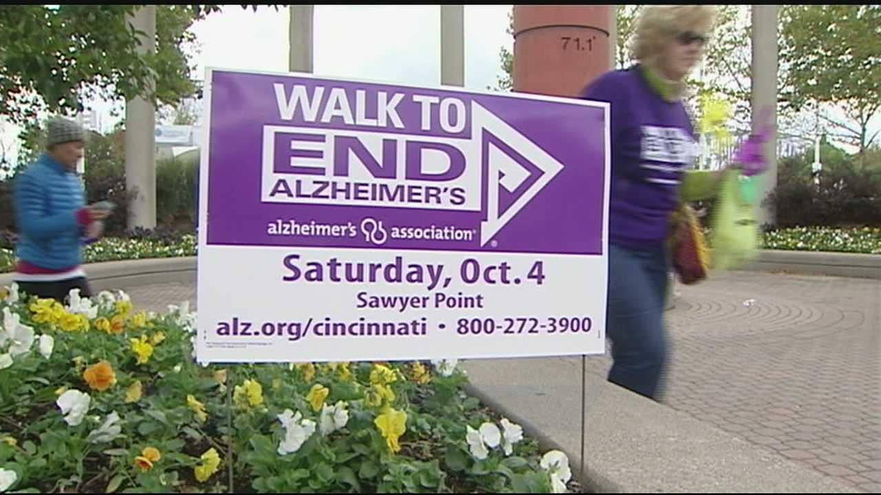 The Walk to End Alzheimer's course was only three miles, but organizers hope the the money raised will go a long way on the journey toward beating this debilitating disease.