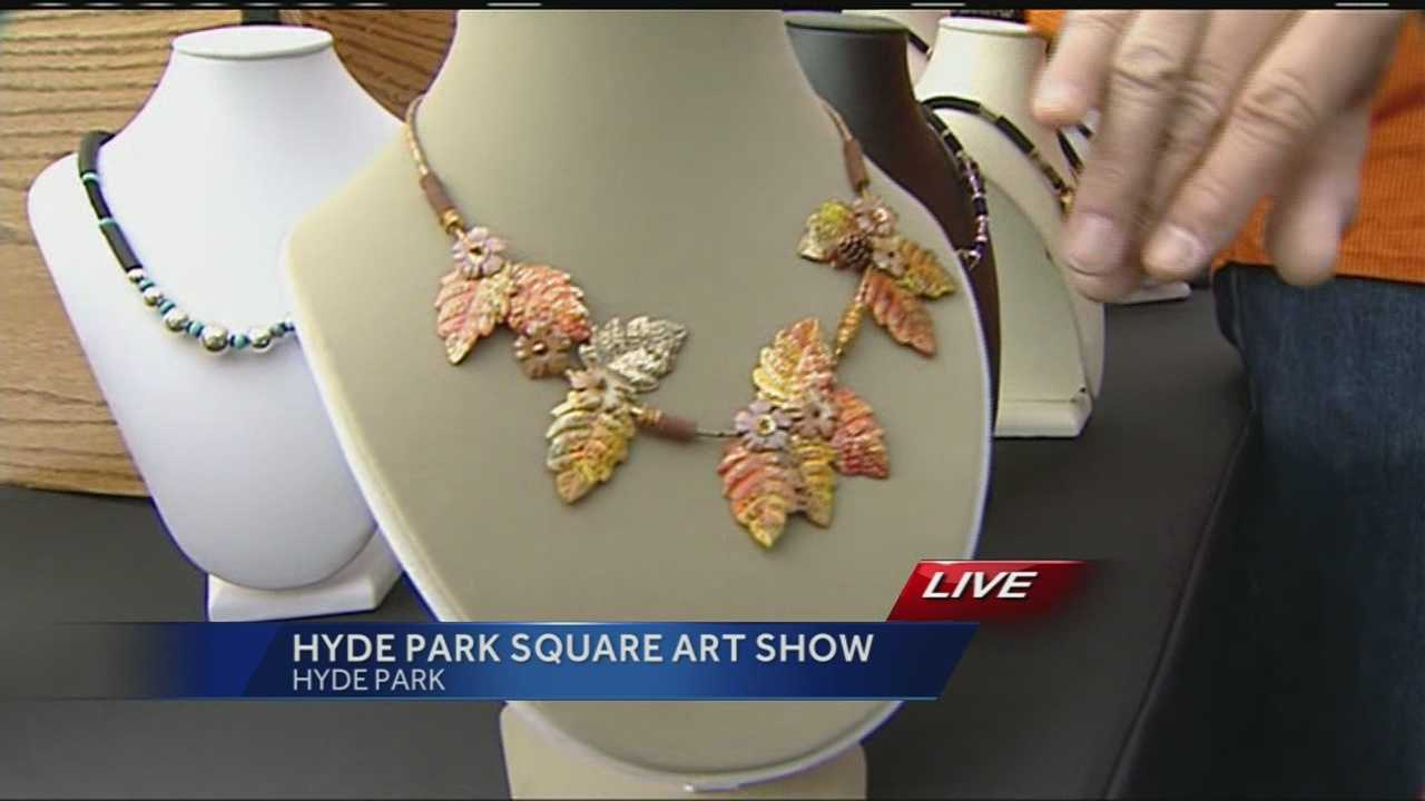 The 48th Annual Hyde Park Square Art Show will be held on Sunday, October 5, from 10 a.m. to 5 p.m. at Hyde Park Square at Edwards Road and Erie Avenue