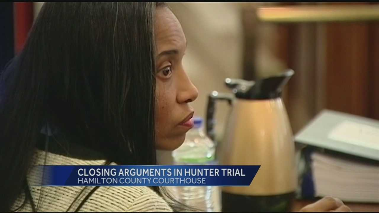 After 19 days of testimony both sides have rested in the high profile trial of Tracie Hunter. Hunter faces up to 13 years in prison if she is found guilty on all nine felonies. The closing arguments will begin Monday morning.