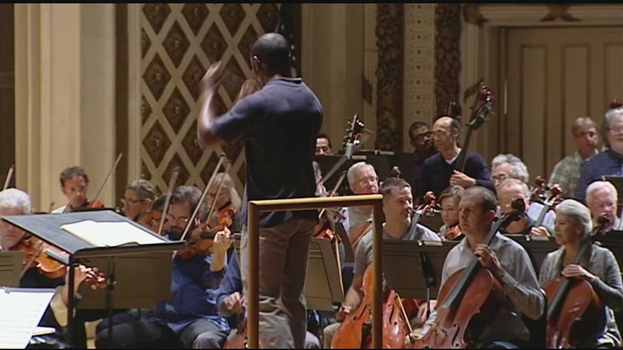 The up-and-coming maestro is one of the most watched young conductors in the world of classical music.