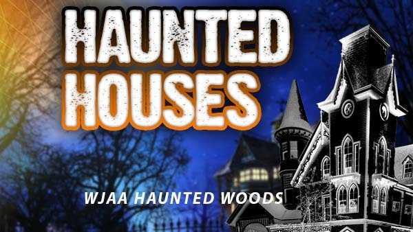 WJAA HAUNTED WOODS - 3759 Old St. Rt. 32, Williamsburg, Ohio 45176Dates for 2015: Oct. 23, 24, 30, 31Hours: Ticket sales start 7 p.m. and will be sold until midnight. WJAA will not close until everyone has been calledAdmission price: Adult $15, children 10 and under $10http://wjaahaunted.wordpress.com/
