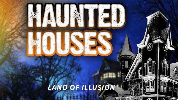 Land of Illusion - 8762 Thomas Road, Middletown, Ohio, 45042Dates for 2015: Sept. 11,12,18,19,25,26 Oct. 2-4, 9-11, 16-18, 23-25,30-3, Nov. 1Hours: 8 p.m. until 1 a.m. Friday & Saturday&#x3B; 8-11 p.m. on Sundays in Oct.Admission prices: http://www.landofillusion.com/tickets/http://www.landofillusion.com/