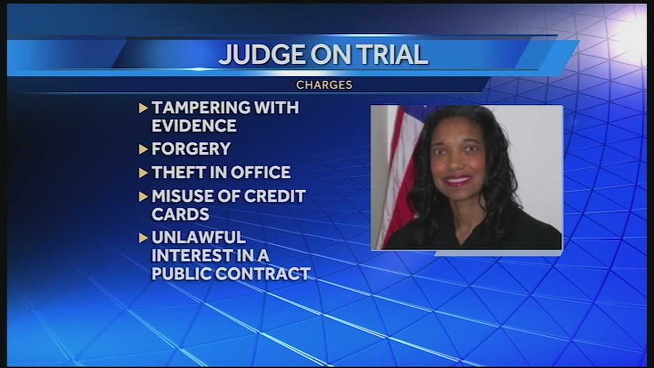 The jury has reached a decision on one charge of Having Unlawful Interest in a Public Contract. This deals with the judge's alleged involvement in her brother's employment with Hamilton County.