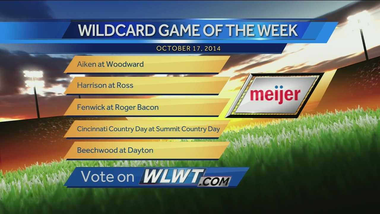 Wildcard Game of the Week - Oct. 10