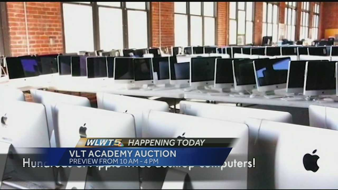 Assets from the embattled VLT Academy are heading to the auction block in an effort to help pay creditors.