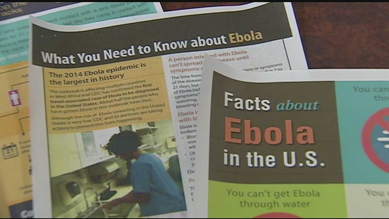Dr. Steven Englender of the Cincinnati Health Department said Monday the case of the Dallas nurse contracting Ebola has heightened everyone's concern within the medical community. Infectious practitioners have met with the Greater Cincinnati Health Council to discuss protocols, equipment, protective clothing and staff training.