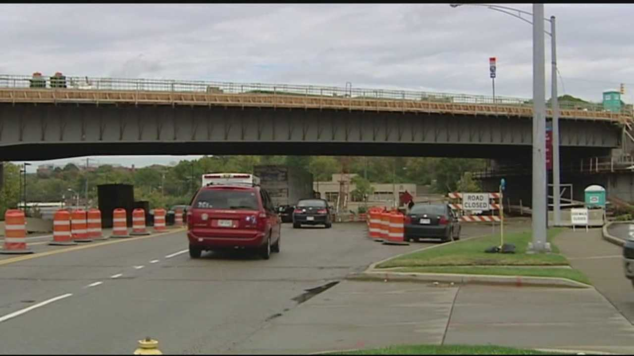 There was a successful transition onto the new bridge at the Hopple Street interchange over the weekend, but now the question is will drivers use it?