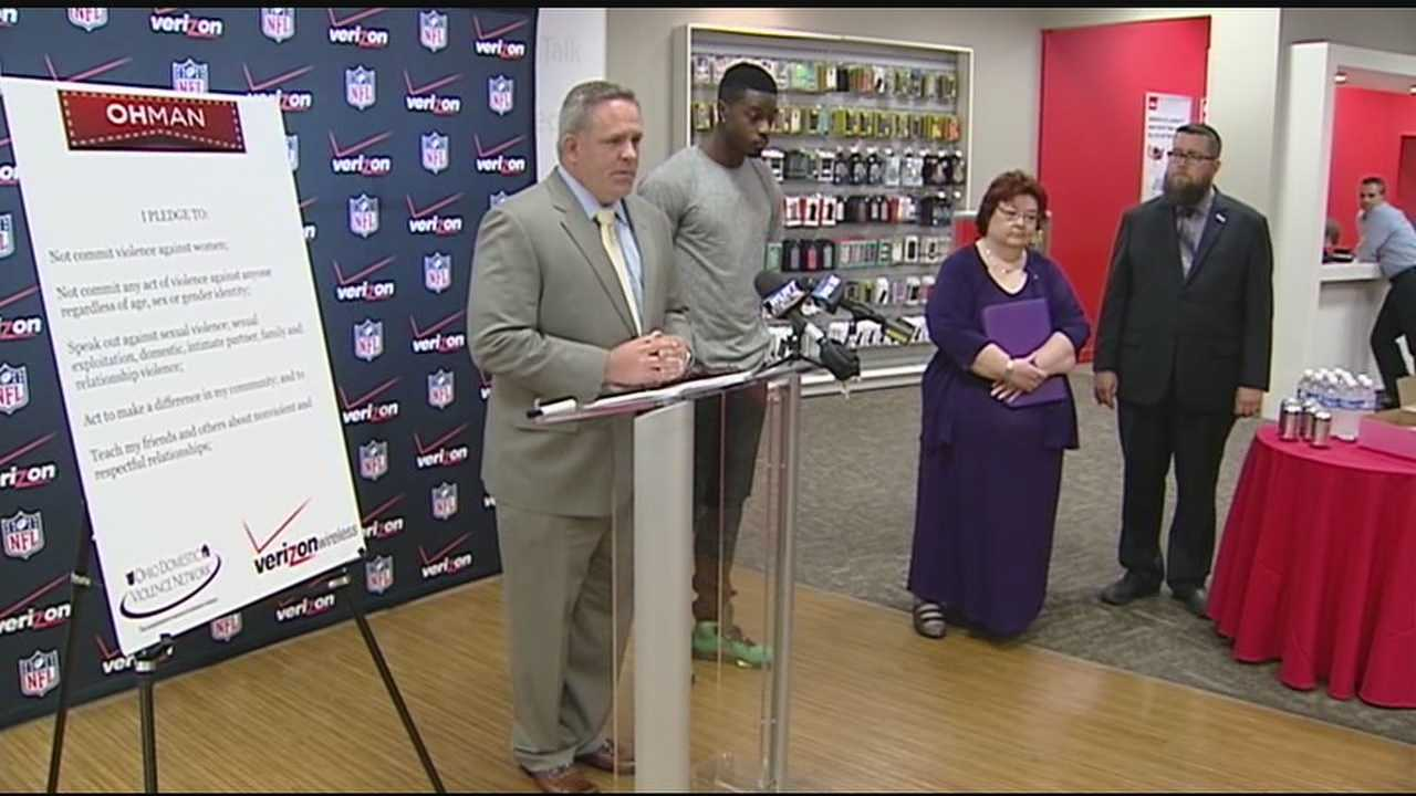 The wireless company mad a $70,000 donation to the Ohio Domestic Violence Network. The money will fund outreach targeted at educating men and boys to prevent domestic violence.