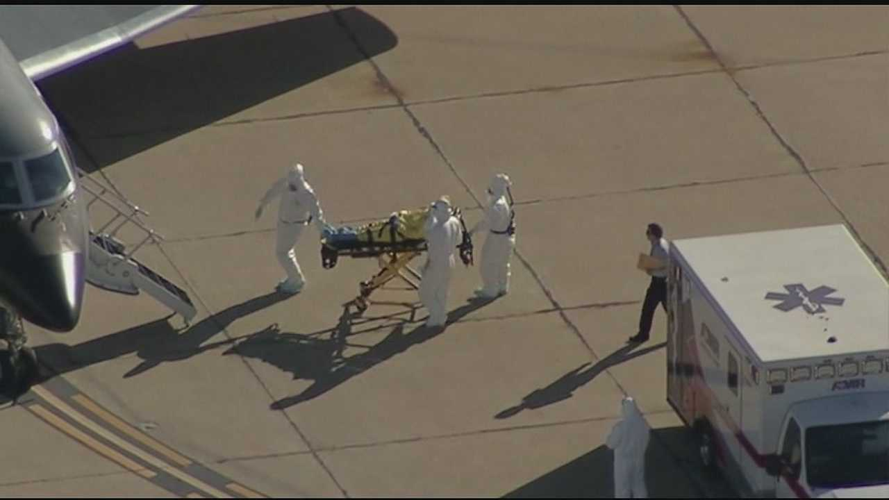 Texas nurse's visit to Akron, Ohio prompts the state to address the threat an Ebola outbreak.