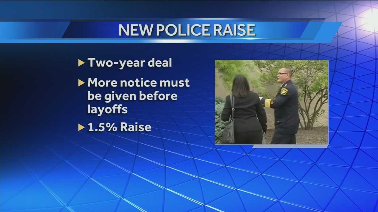 A Cincinnati City Council committee has agreed on a tentative new two-year contract with police officers.