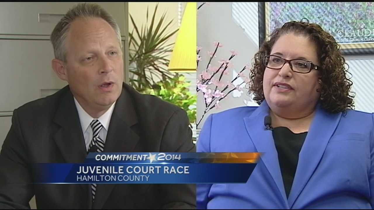 The race for Hamilton County's Juvenile Court Judge is a highly watched race. Both candidates are linked to Judge Tracie Hunter and her initial fight to get a seat on the bench. WLWT News 5's Courtis Fuller talked to the judge who holds the seat now and the attorney who wants to unseat him.