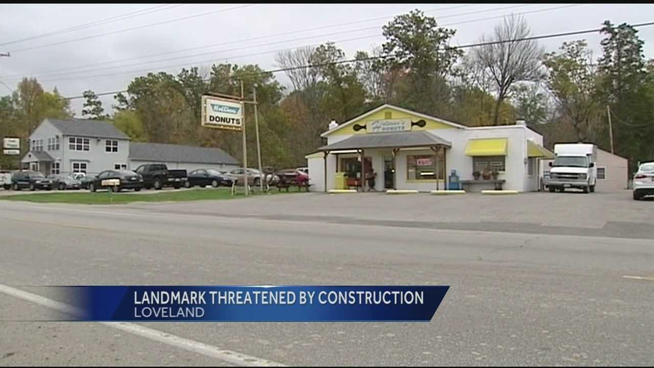 A popular Loveland donut shop is worried construction may impact business.