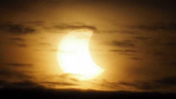 Image from Oct. 23, 2014 partial eclipse