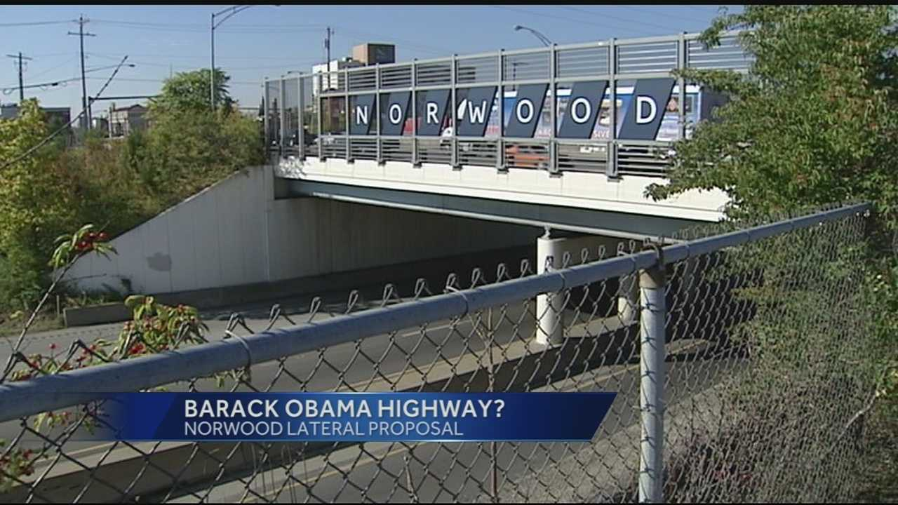 State Senator Eric Kearney has introduced a bill to designate State Route 562 as the Barack Obama Norwood Lateral Highway.