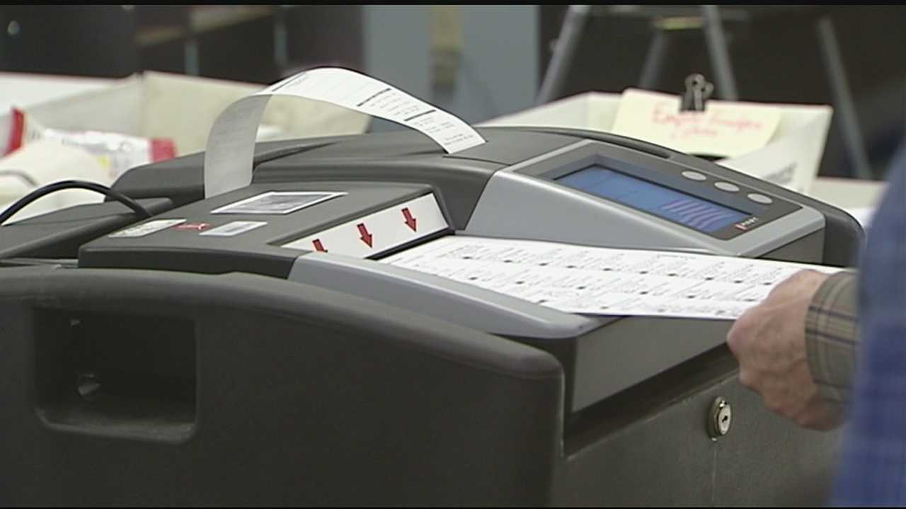 On Tuesday, they conducted the public test of their voting machines and scanners. The next seven days are critical as they prepare to count thousands of votes on Election Day.