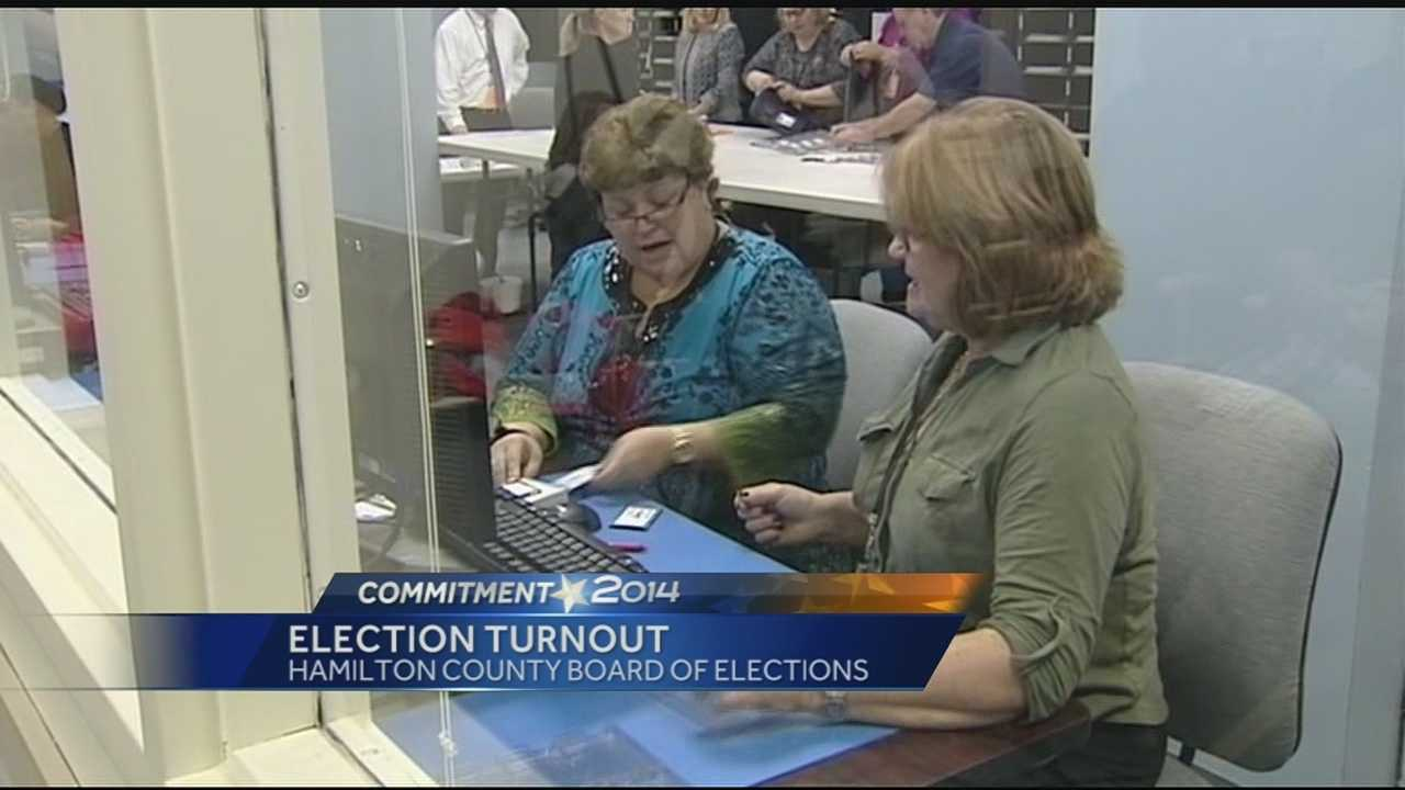 Only a few isolated problems were reported by boards of elections across the Tri-State this Election Day.