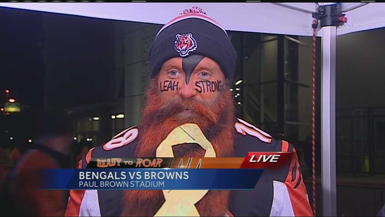 Anyone who is participating in no-shave November will most likely come in a distant second place to the Bengals beard guy. Garey Faulkner's facial hair has made him, if not famous, more noticeable at Paul Brown Stadium. He is known as the Bengals beard guy.
