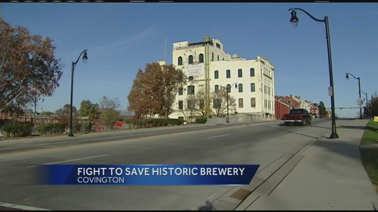 The Bavarian Brewery has been in Covington more than 100 years. The owers said there is no way to save the deteriorating building. People do not want the building demolished and they picketed Sunday to get their voices heard.