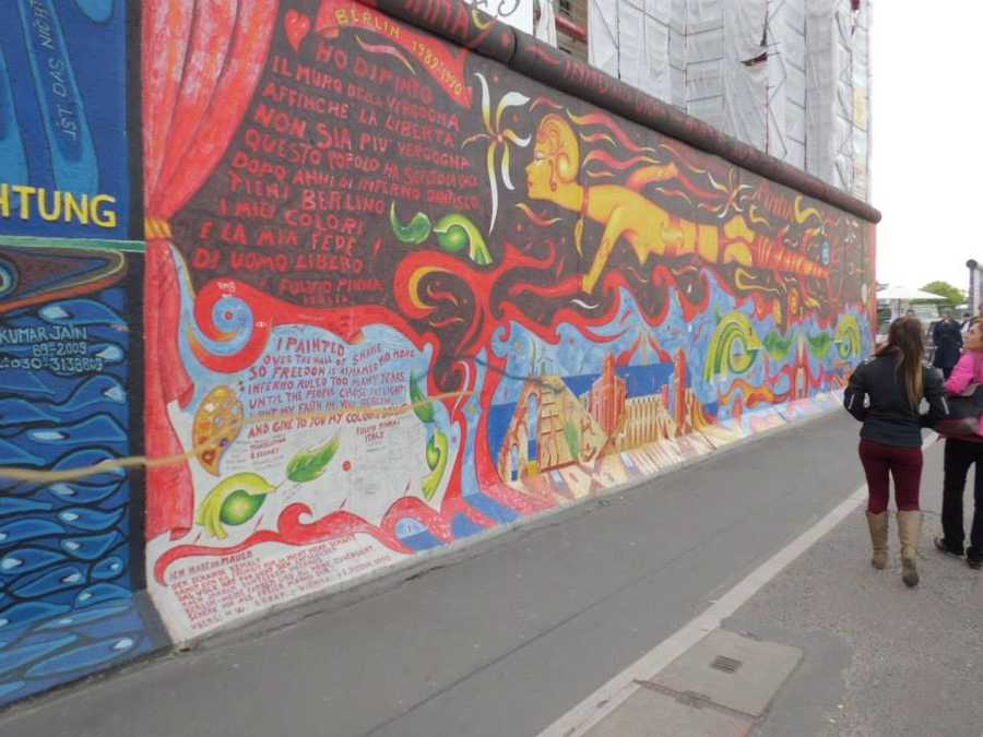 The Berlin Wall Trail, completed in 2006, follows the route of the former barrier that separated East and West.