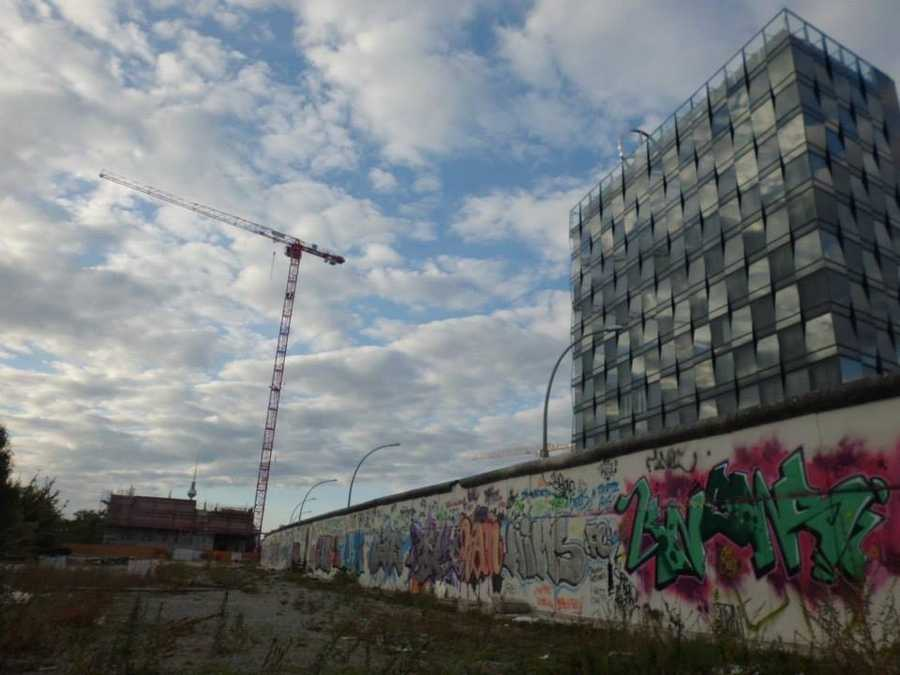 The largest portion of the Berlin Wall that still stands today is an outdoor art gallery or sorts, known as the East Side Gallery, along the Spree River.