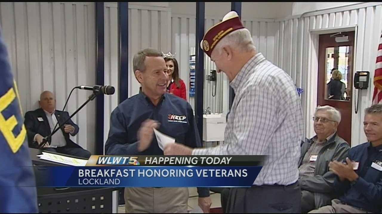 Annual breakfast honors, raises money for veterans