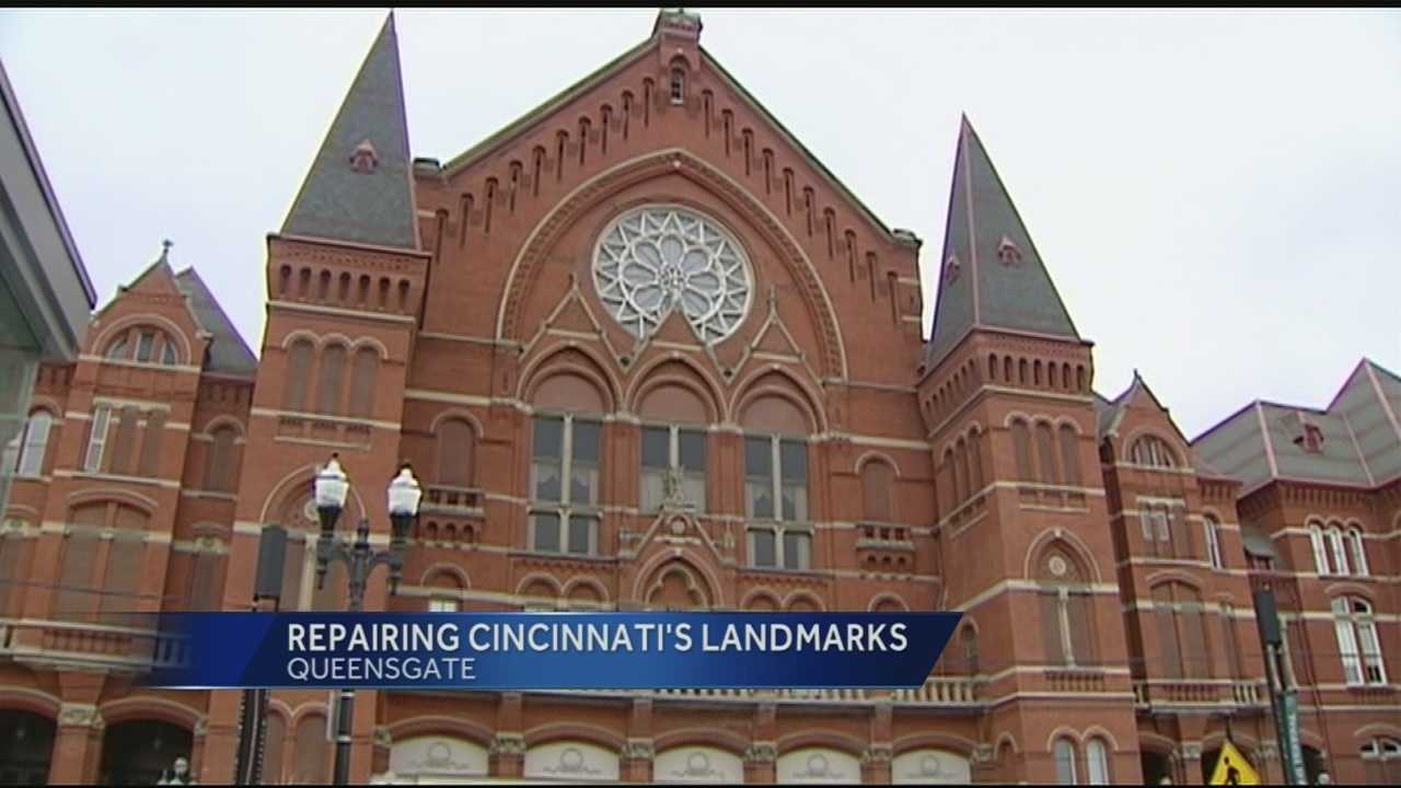 One icon is taken care of, but Music Hall still needs money for repairs. It is one of four applicants in the running for a $15 million state tax credit.