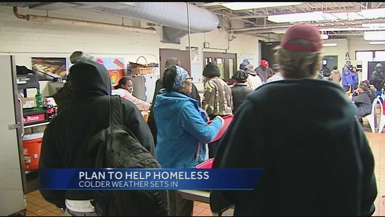 As the cold moves in, Tri-State agencies are ready to help the hundreds of homeless in need. Groups from all over Hamilton County are working together to address the issue.