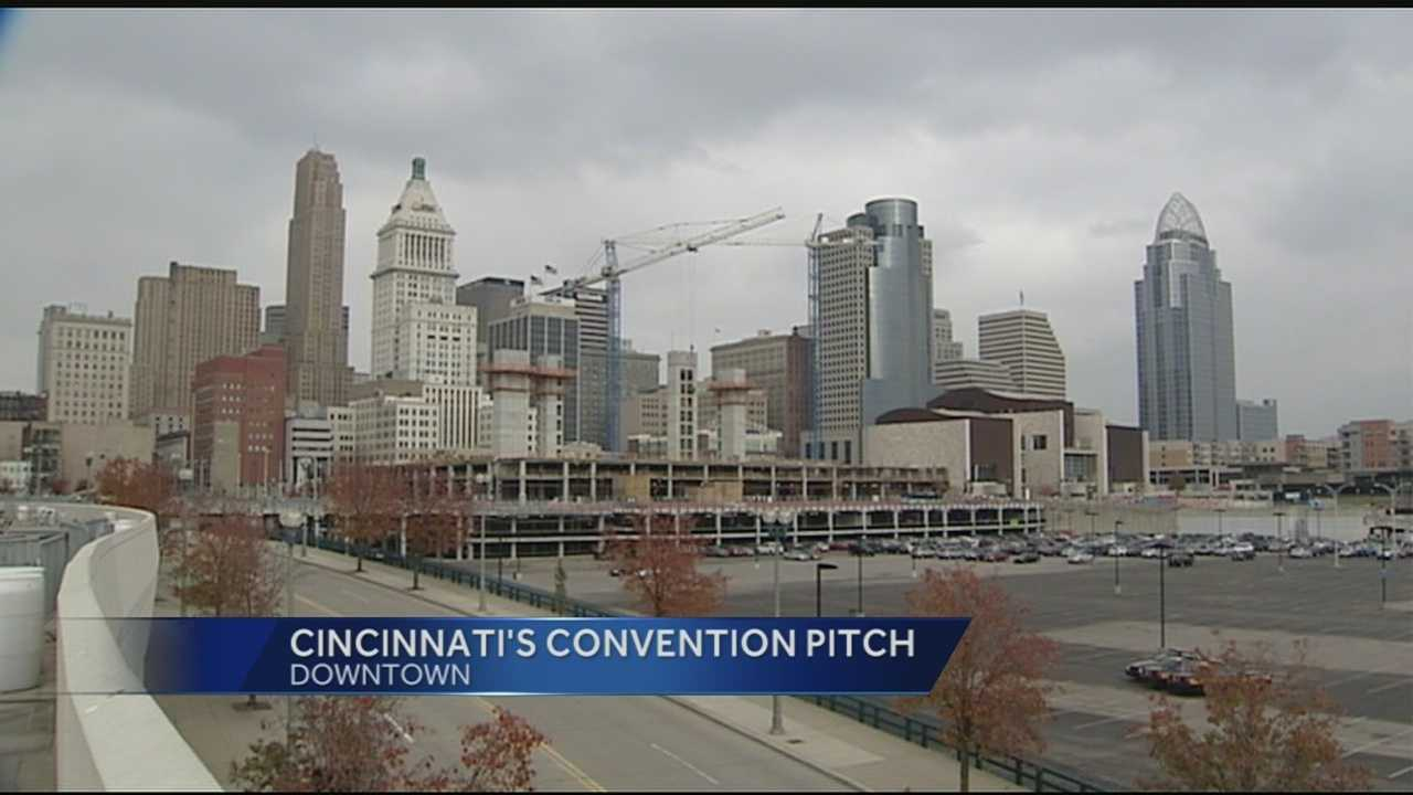 A group representing several national conventions heard a pitch from Cincinnati leaders Thursday on why they should choose the Queen City as the host for their events.
