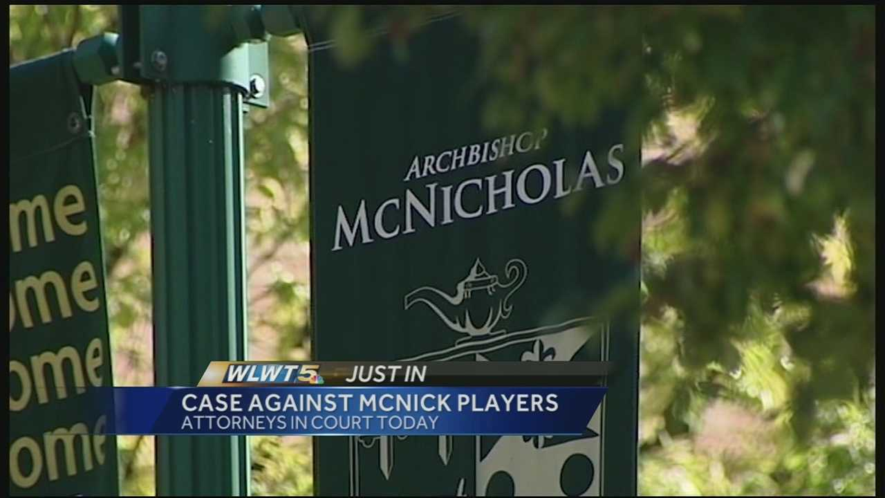 The four teenagers were at one time on the freshman football team at McNicholas High School.