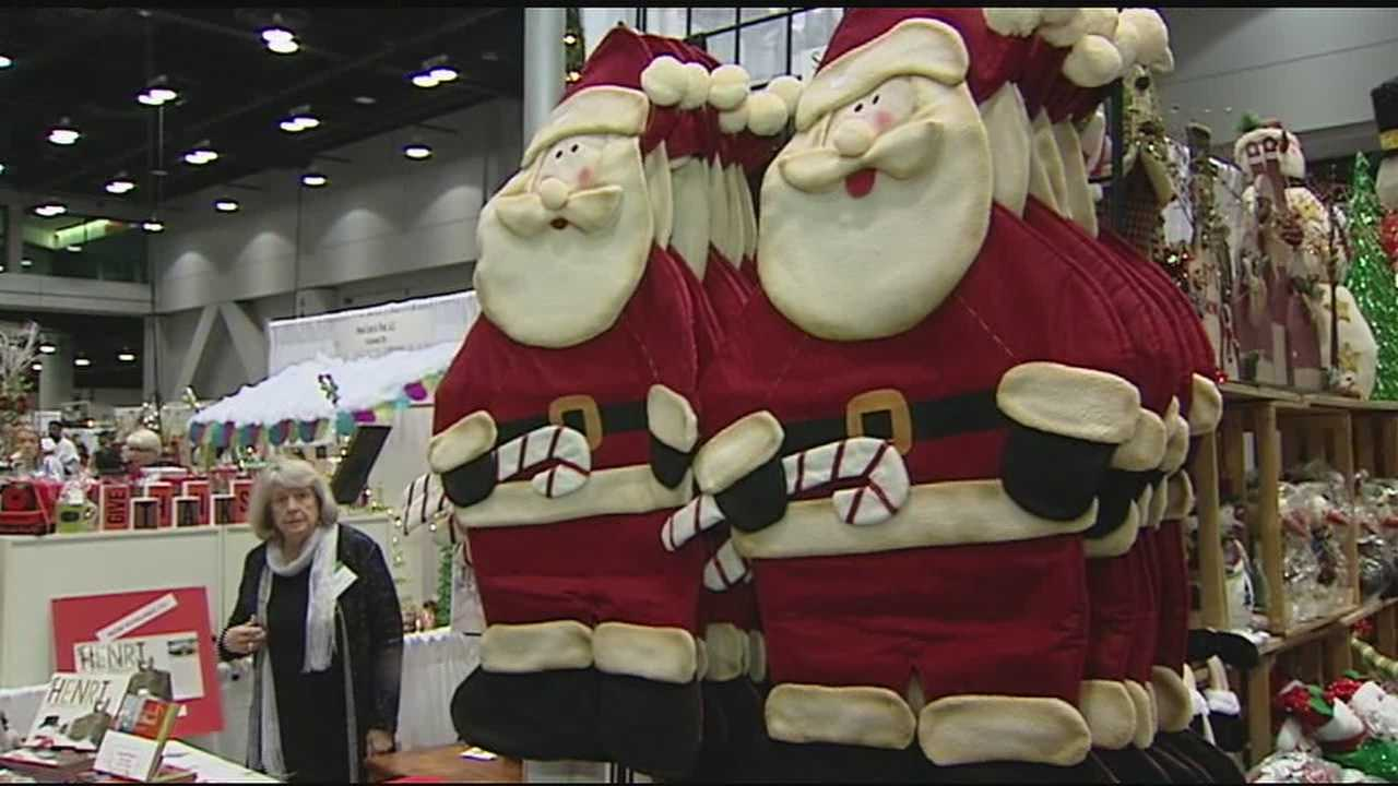 Let the Christmas shopping begin. The Holiday Market is back in downtown Cincinnati at the Duke Energy Convention Center. It's a chance to shop from more than 300 boutiques and not only start your Christmas shopping, but maybe finish it as well.