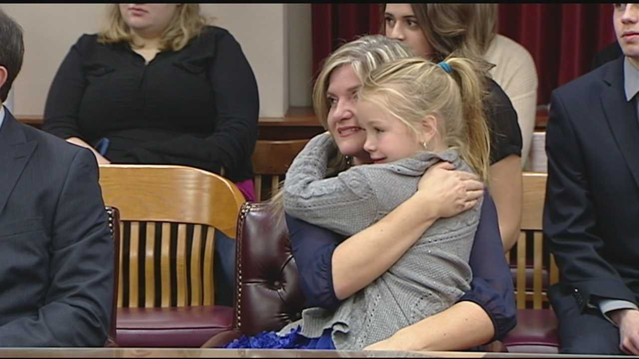 A ceremony was held to join together six new Tri-State families. November is National Adoption Month, and for the last 8 years families have decided to hold the usually private ceremonies in public to help draw attention to the need for adoptive families.