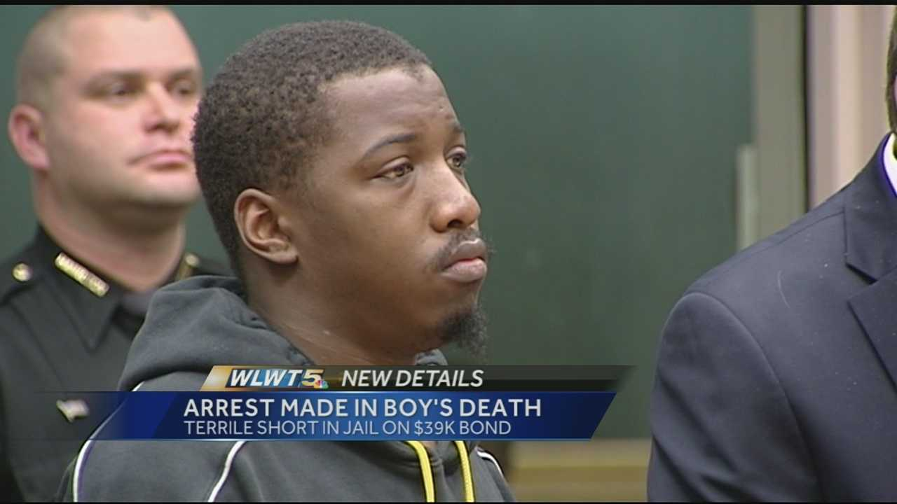 The man charged in the shooting death of a Mount Auburn 5-year-old appeared in court Saturday. Terrile Short, 23, was arrested Friday and is being held in the Hamilton County Jail on a $39,000 bond. His charges include reckless homicide and tampering with evidence in connection with the shooting death of 5-year-old Daniel Hamilton.