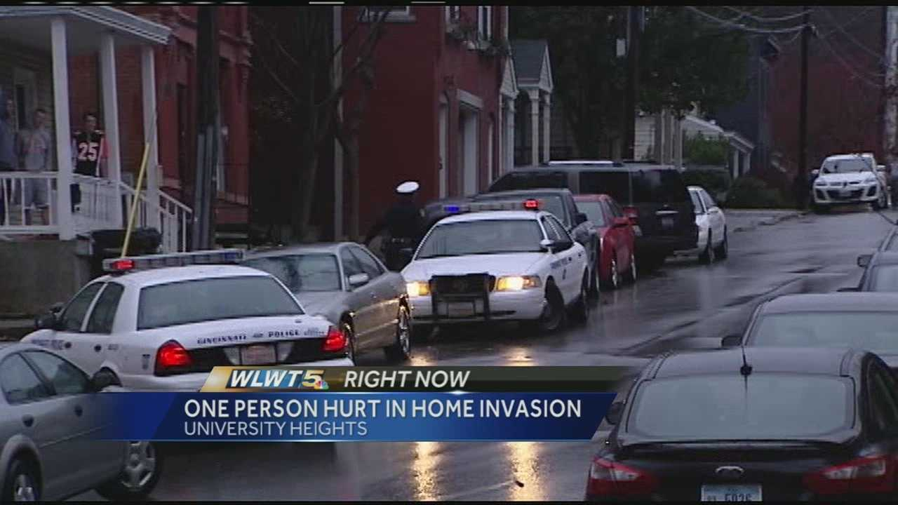 Police were on the scene of a home invasion in Clifton Heights Sunday afternoon. Authorities said the incident was reported just after 3:30 p.m. at an apartment in the 2100 block of Ravine Street. Officers said three people forced their way into the apartment, injuring one victim and tying up another.