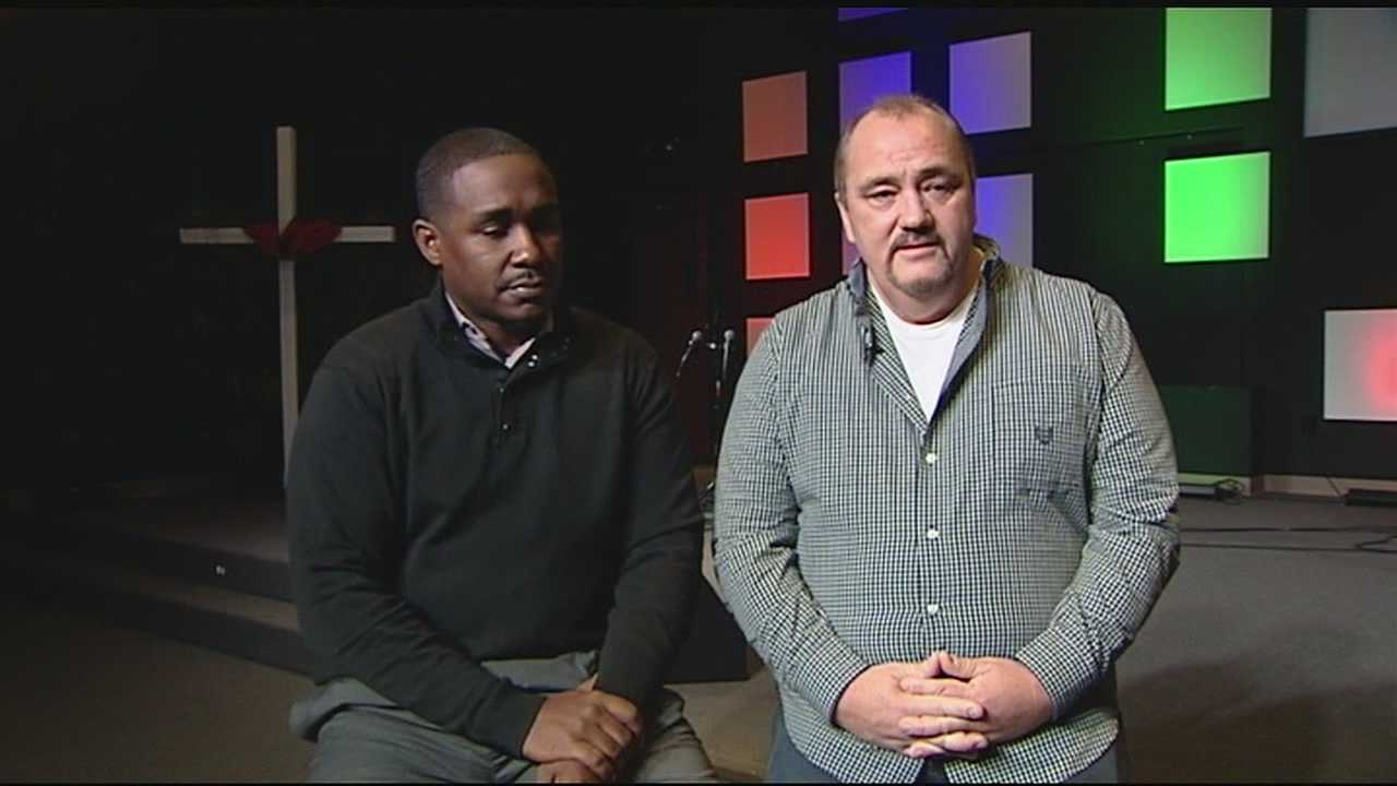 This Sunday, pastors Warren Curry and Randy Rice will hold a unity service side by side. Curry's predominately African-American congregation will join Rice's predominately white congregation in prayer.